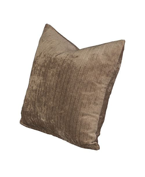 "Siscovers Vintage Wheat 20"" Designer Throw Pillow"