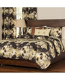 Sis Covers Graffiti Reversible 5 Piece Twin Luxury Duvet Set