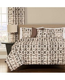 Reflection 6 Piece Queen Luxury Duvet Set