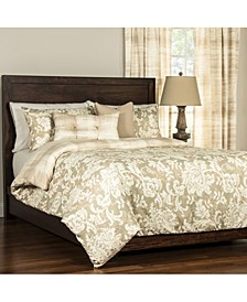 Renaissance 6 Piece Cal King High End Duvet Set