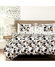Tanglewood 6 Piece Full Size Luxury Duvet Set
