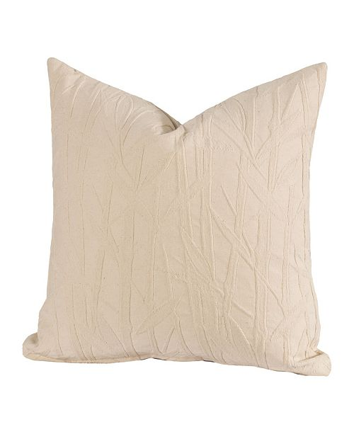 "Siscovers Bamboo 16"" Designer Throw Pillow"