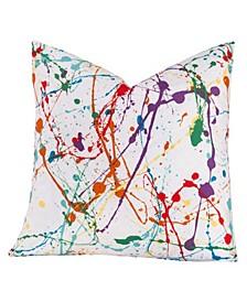 "Splat 16"" Designer Throw Pillow"