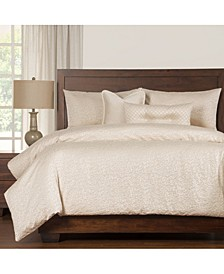 Pandora 6 Piece Full Size Luxury Duvet Set
