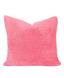 """Crayola Playful Plush Cotton Candy 16"""" Designer Throw Pillow"""