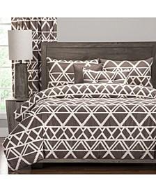 Geotribe 5 Piece Twin Luxury Duvet Set