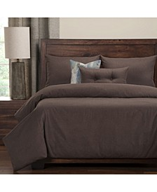 Camelhair Coffee 6 Piece Full Size Luxury Duvet Set