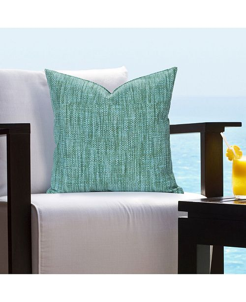 "Siscovers Deep Sea Indoor-Outdoor 20"" Designer Throw Pillow"