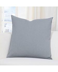 "Everlast Fog Grey 16"" Designer Throw Pillow"