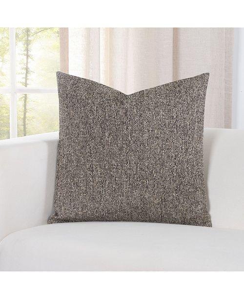 "PoloGear Belmont Brunette 20"" Designer Throw Pillow"