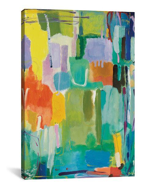 "iCanvas ""Urban Essay Ii"" By Kim Parker Gallery-Wrapped Canvas Print - 18"" x 12"" x 0.75"""