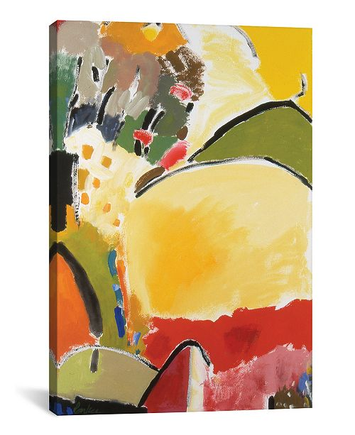 "iCanvas ""Yellow Hill"" By Kim Parker Gallery-Wrapped Canvas Print - 26"" x 18"" x 0.75"""