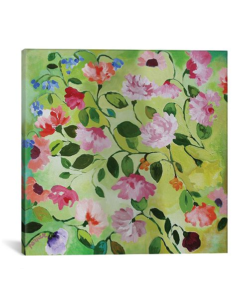 "iCanvas ""Magnolias"" By Kim Parker Gallery-Wrapped Canvas Print - 12"" x 12"" x 0.75"""