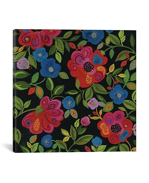 """iCanvas """"Magical Garden"""" By Kim Parker Gallery-Wrapped Canvas Print - 26"""" x 26"""" x 0.75"""""""