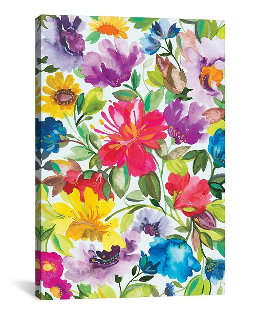 "iCanvas ""Hibiscus"" By Kim Parker Gallery-Wrapped Canvas Print - 60"" x 40"" x 1.5"""