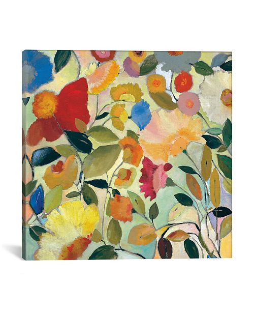 "iCanvas ""August Garden"" By Kim Parker Gallery-Wrapped Canvas Print - 12"" x 12"" x 0.75"""