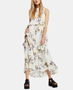 5bcfe24ea2970 Free People Anita Cotton Printed Maxi Dress