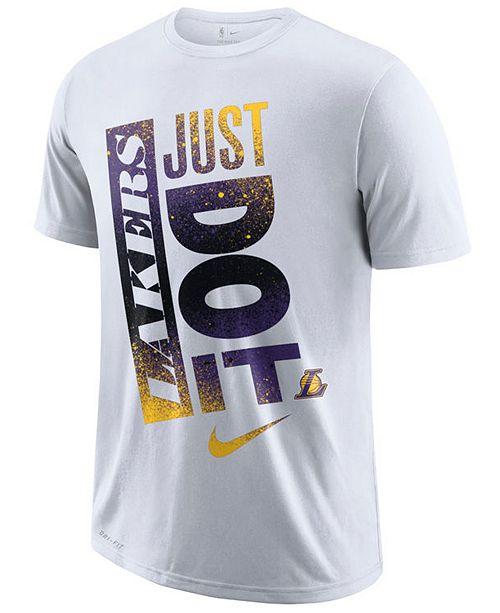 bb6199ded4c Nike Men s Los Angeles Lakers Just Do It Mezzo T-Shirt   Reviews ...