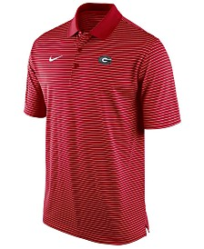 Nike Men's Georgia Bulldogs Stadium Stripe Polo