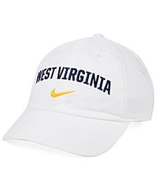 West Virginia Mountaineers H86 Wordmark Swoosh Cap