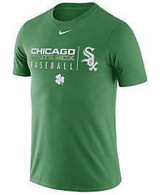 Nike Men's Chicago White Sox Clover Dri-FIT Practice T-Shirt