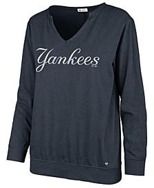 Women's New York Yankees Gamma Long Sleeve T-Shirt