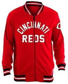 New Era Men's Cincinnati Reds Lineup Track Jacket