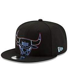 Chicago Bulls Light It Up 9FIFTY Snapback Cap