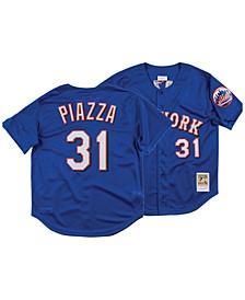 Men's Mike Piazza New York Mets Authentic Mesh Batting Practice V-Neck Jersey