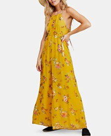 Free People Georgia Printed Sleeveless Jumpsuit