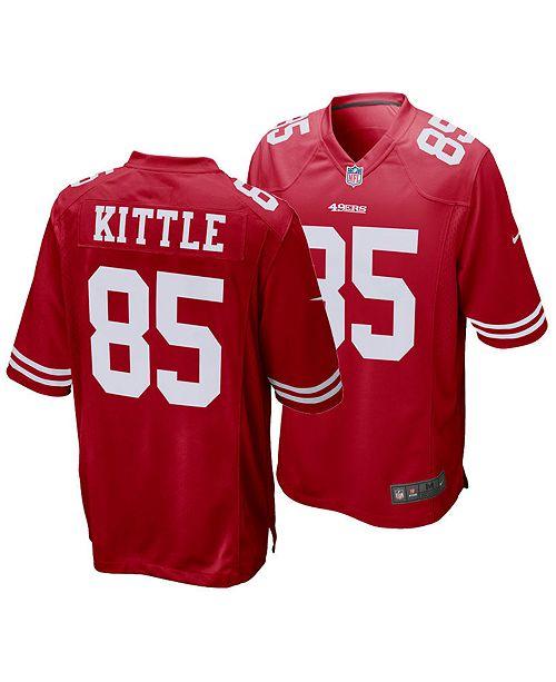super popular 887fa 43501 Men's George Kittle San Francisco 49ers Game Jersey