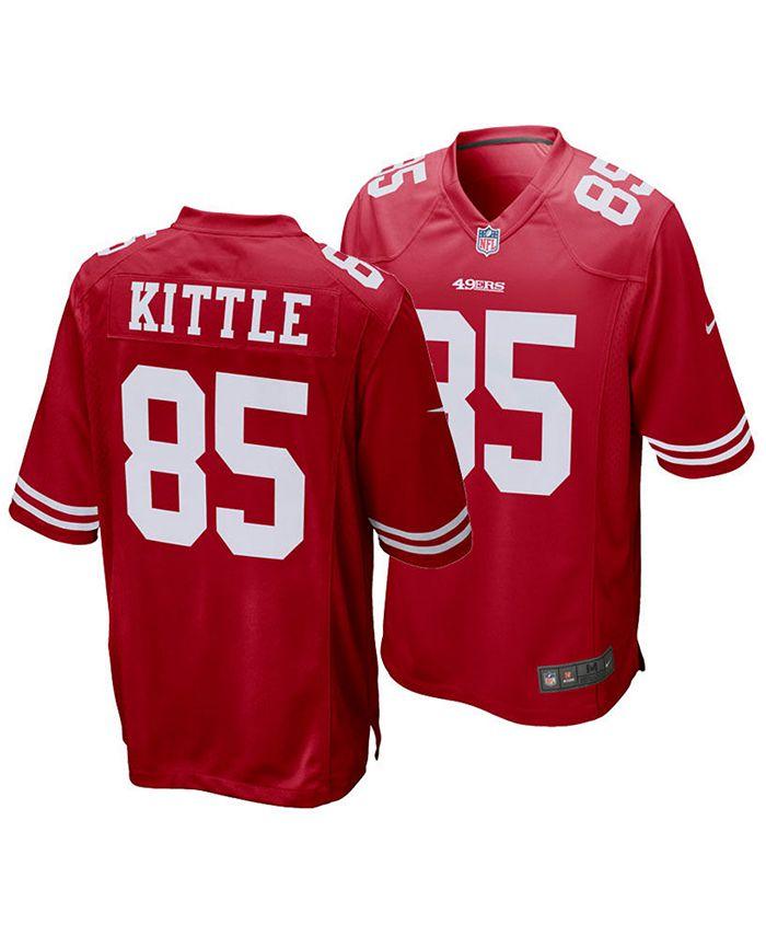 Men's George Kittle San Francisco 49ers Game Jersey