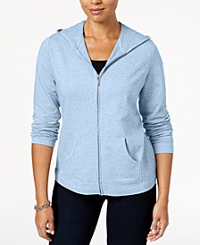 Zip-Front Hoodie, In Regular and Petite, Created for Macy's