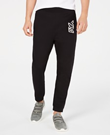 A|X Armani Exchange Men's Logo Fleece Joggers