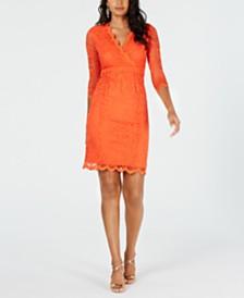 Thalia Sodi Lace Sheath Dress, Created for Macy's