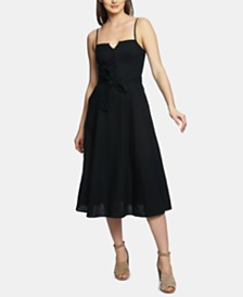 1.STATE Linen Fit & Flare Sundress