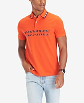 c3e4bda7a Tommy Hilfiger Men's Lance Custom-Fit Logo Polo
