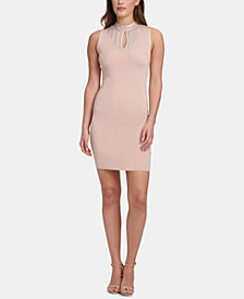 Marciano Sleeveless Embellished Bodycon Dress, Created for Macy's