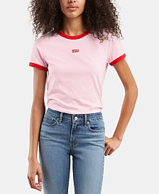 Levi's® Perfect Ringer Cotton Graphic T-Shirt