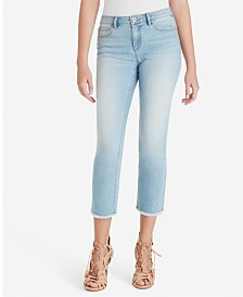 Jessica Simpson Junior's Arrow Straight Ankle Jeans