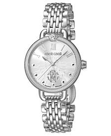 By Franck Muller Women's Swiss Quartz Silver Stainless Steel Bracelet Watch, 30mm