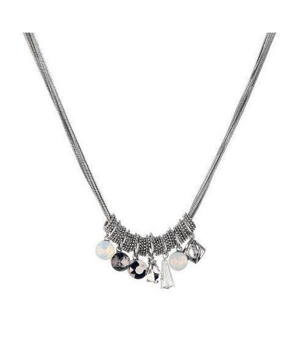 Nicole Miller Cluster Necklace