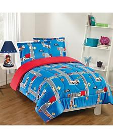 City Streets 2-Piece Comforter Set, Twin