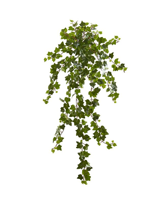 """Nearly Natural 36"""" Curly Ivy Artificial Hanging Plant (Set of 3)"""