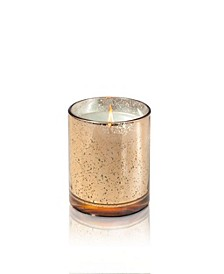 Cotton Ginseng Metallic Candle