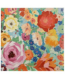 Primary Floral Canvas