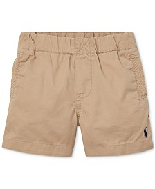 Polo Ralph Lauren Baby Boys Cotton Chino Pull-On Shorts