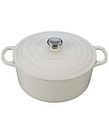 Signature Enameled Cast Iron 9 Qt. Round French Oven