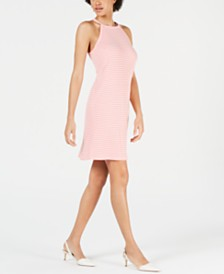 Maison Jules Halter Shift Dress, Created for Macy's