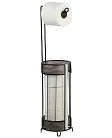 Home Basics Metropolitan Collection Steel Toilet Paper Holder